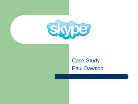 Case Study Paul Dawson. Agenda Business Model Background Core Technology Revenue Stream Performance Competitive Advantage & Marketing Competition Growth.