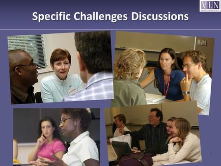Specific Challenges Discussions 1. 2. Challenges to Establishing Trust Our assumptions that they have every reason to trust us and our good intentions.