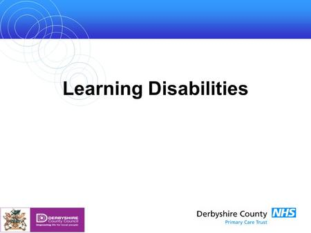 Learning Disabilities. Introduction How many people? How well are their needs being met? This presentation summarises information from a longer JSNA briefing.