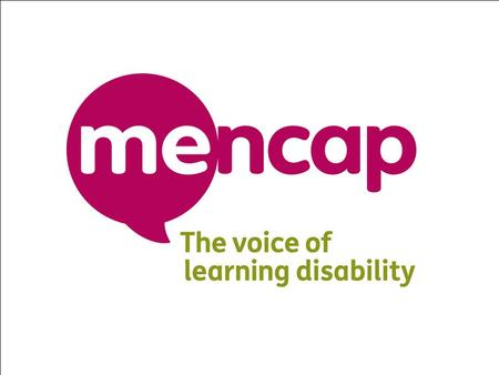 David Congdon Head of Campaigns & Policy Mencap's response to cuts Bi g cuts events.