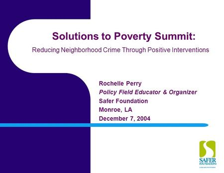 solutions to poverty and crime relationship