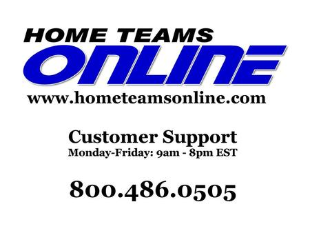 PREMIUM SPORTS WEBSITES FOR TEAMS, LEAGUES, AND ORGANIZATIONS. Home Teams Online was founded in 2000. Do-it-yourself sports websites. Tools for sports.