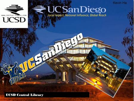 UCSD Central Library Kevin Ha. The school is 50 percent Asian, 1 percent black and 13 percent Hispanic, 23 percent White, 4 percent Alien, and 9 percent.