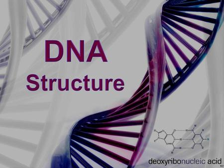 DNA Structure DNA consists of two molecules that are arranged into a ladder-like structure called a Double Helix. A molecule of DNA is made up of millions.