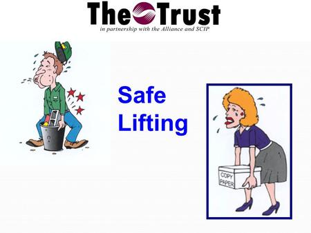 Safe Lifting. More than one million occur every year. They are responsible for 25 percent of all workers' compensation claims. The are the leading cause.