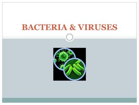 BACTERIA & VIRUSES. BACTERIA PROKARYOTIC in 2 of 3 Domains 1. Eubacteria 2. Archaebacteria.