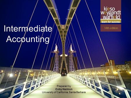 11-1 Prepared by Coby Harmon University of California, Santa Barbara Intermediate Accounting.