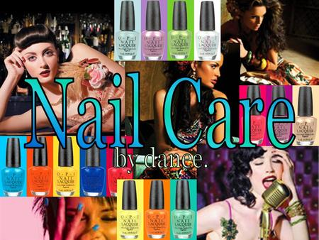 Nail : Nail : composed mainly of keratin, the same protein in skin and hair.