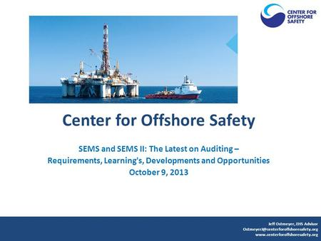 Center for Offshore Safety