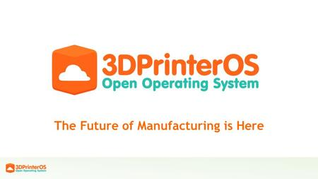 The Future of Manufacturing is Here. One Click Manufacturing Our Vision.