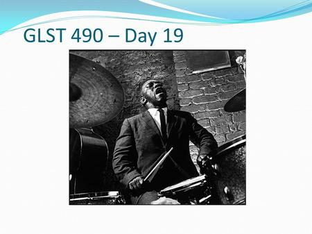 GLST 490 – Day 19. Review for the November 16 th Mid-term Thanks to the volunteers who offered to help Oscar unload his instruments on November 18 th.