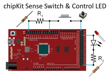ChipKit Sense Switch & Control LED. /* Set Pin 25 (ledPin) to HIGH. */ int ledPin = 25; // Label Pin 25 ledPin. void setup() { // setup() runs once. pinMode(ledPin,