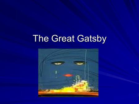 the roaring twenties and the jazz age in the great gatsby by f scott fitzgerald The great gatsby by f scott fitzgerald portrays the life of the wealthy during the jazz age (the roaring twenties) the 1920s.