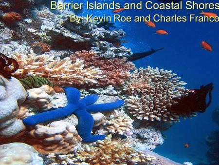 Barrier Islands and Coastal Shores By: Kevin Roe and Charles Franco.