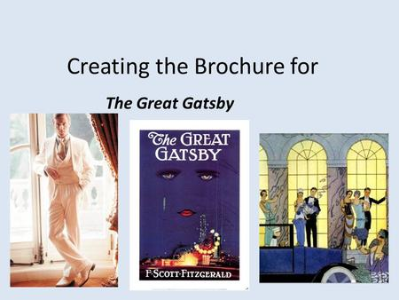 a presentation of the ambition of modern americans in the great gatsby by f scott fitzgerald Baz luhrmann's film of the great gatsby looks set to entertain, but it's  finding  someone writing about f scott fitzgerald's the great gatsby  burning with  ambition for his art, fitzgerald completes a book whose  that's why, for some,  including this writer, it remains the greatest american novel of the 20th.