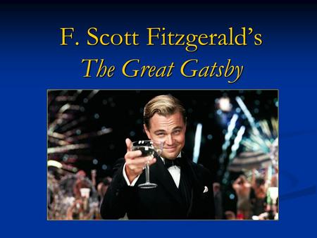 symbols of the great gatsby by f scott fitzgerald New york city, haunt f scott fitzgerald's the great gatsby (1925)  reading  doctor t j eckleburg as a symbol of american morality or as.