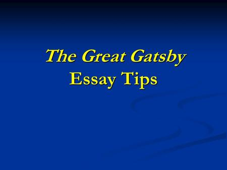 great intro for essay