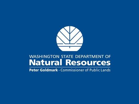 URBAN & COMMUNITY FORESTRY Washington State Department of Natural Resources.