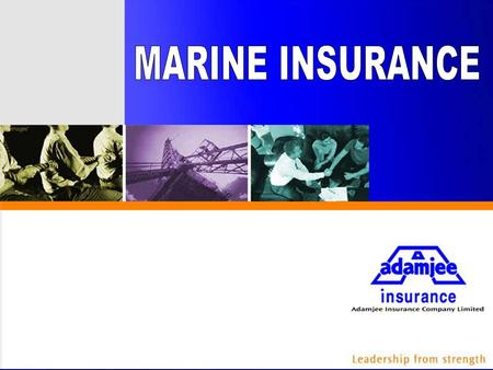 What Marine Insurance is: Marine insurance is that branch of insurance which provides coverage of risk to the goods of various description when they are.