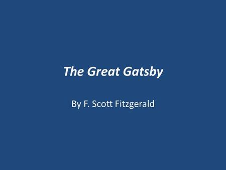 "The Great Gatsby By F. Scott Fitzgerald. ""Chop Suey"" – Edward Hopper (1929) Do Now: What does this painting suggest about society in the 1920s?"