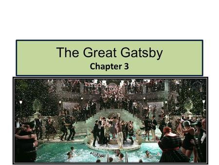 great gatsby chapter 1 summary