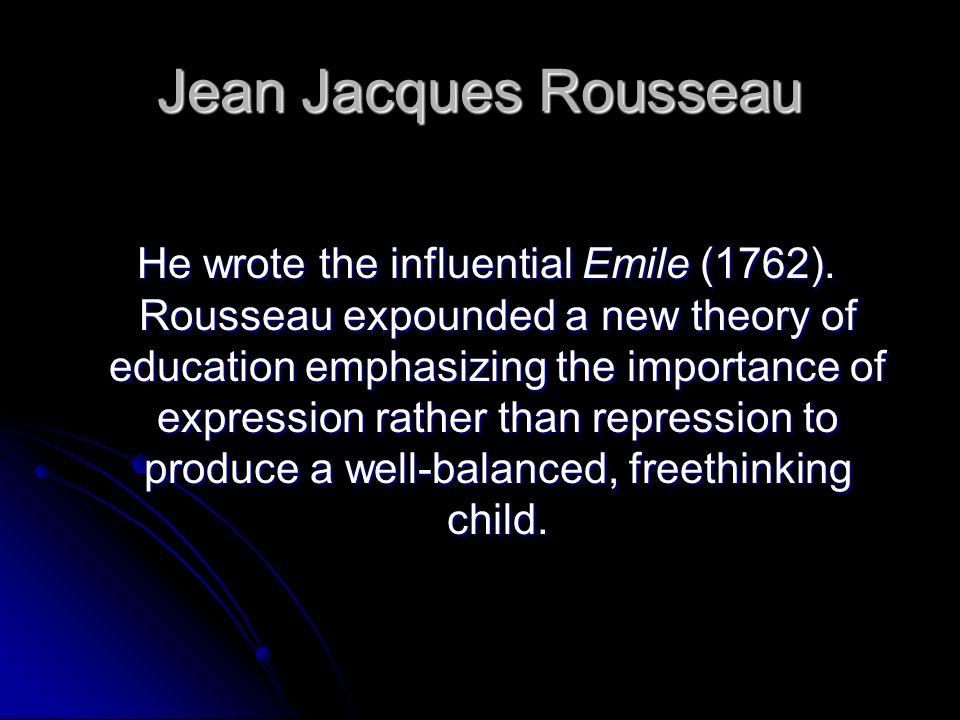 Johann Heinrich Pestalozzi Pestalozzi theories laid the groundwork for modern elementary education.