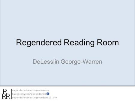Regendered Reading Room DeLesslin George-Warren. Catawba Indian Nation Gmaps- Zoom-in Series.