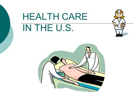 HEALTH CARE IN THE U.S..  The U.S. government does not pay any part of the medical expenses for international students studying here.  The average cost.