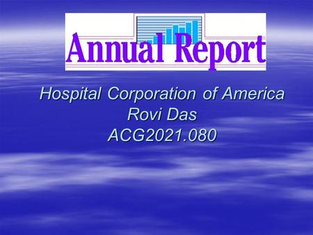 Hospital Corporation of America Rovi Das ACG2021.080.