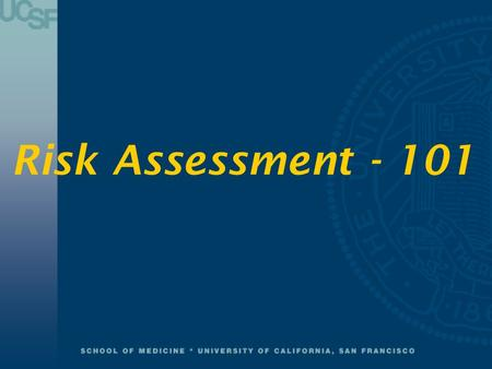 Risk Assessment - 101. Documentation & Reporting Warning Flags & Bow Shots.