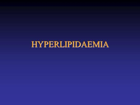 HYPERLIPIDAEMIA. 4S 4444 patients –Hx angina or MI –Cholesterol 5.5-8.0 Simvastatin 20mg (10-40) vs. placebo FU 5 years  total cholesterol 25%;  LDL.