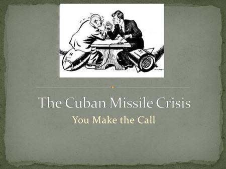 cuban missile crisis negotiations essay definition
