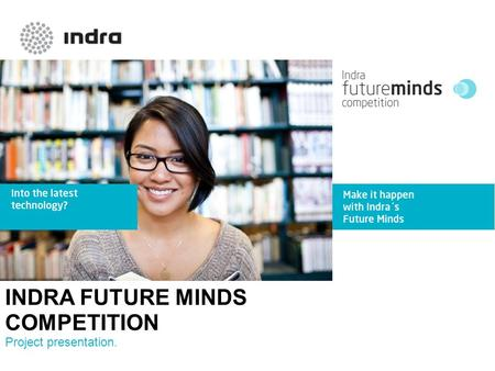 INDRA FUTURE MINDS COMPETITION Project presentation.