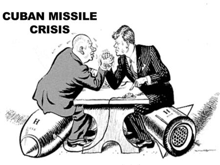 CUBAN MISSILE CRISIS. The Cuban Missile Crisis was an event that occurred during the U.S. and Russia cold war. This event was a thirteen day confrontation.