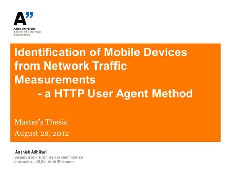 network forensic thesis