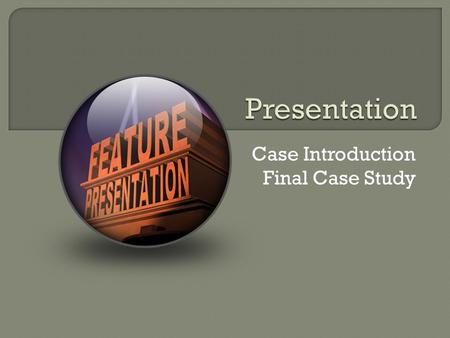 Ethics and the environment case study presentation outline
