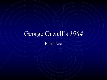 An analysis of the loneliness concept in the novel 1984 by george orwell