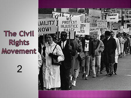 causual analysis the modern civil rights movement