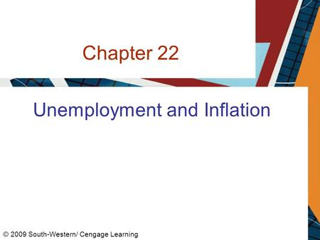 Chapter 22 Unemployment and Inflation © 2009 South-Western/ Cengage Learning.