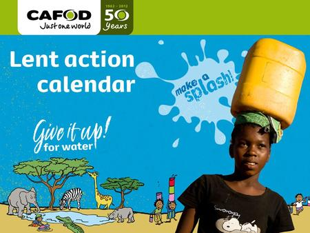 Www.cafod.org.uk cafod.org.uk Title of talk Name of person giving Date.