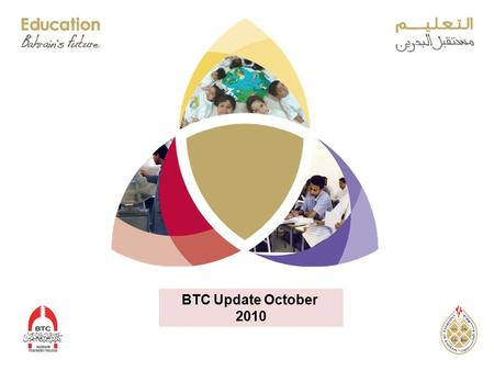 BTC Update October 2010. TIMSS 2007 14 yr olds 8 TH Grade TIMSS 2007 –10 yr olds Math Taiwan Korea Singapore Hong Kong Japan Hungary England 12345671234567.
