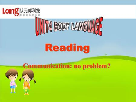 Reading Communication: no problem? Do you think all the countries have the same meaning to a same body movement?