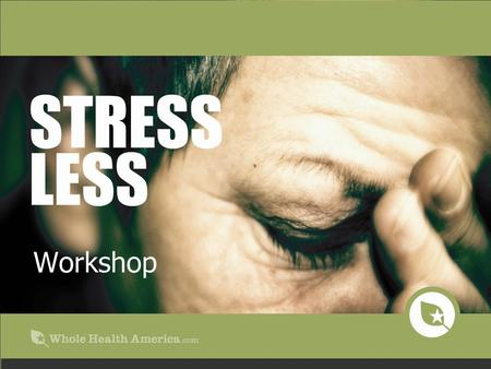 Stress The source of disease Stress is at the root of most disease High cholesterol Heart disease High blood pressure Colitis and irritable bowel Allergies.