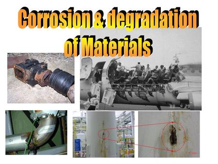 1. 2 Basics Corrosion is the natural deterioration of a metal in which metallic atoms leave the metal or form compounds resulting from chemical attack.