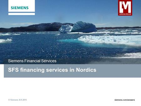 SFS financing services in Nordics