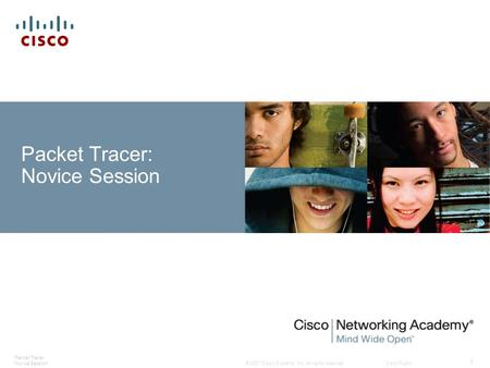 Packet Tracer: Novice Session