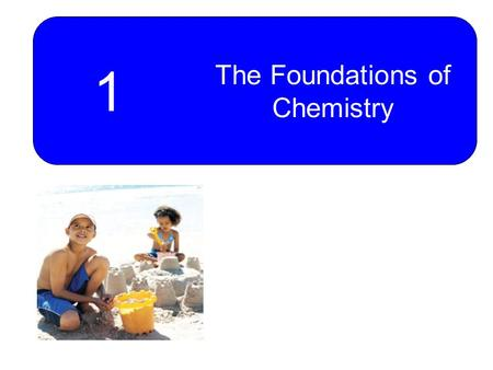 1 The Foundations of Chemistry. 2 Matter and Energy Chemistry – A Molecular View of Matter States of Matter Chemical and Physical Properties Chemical.