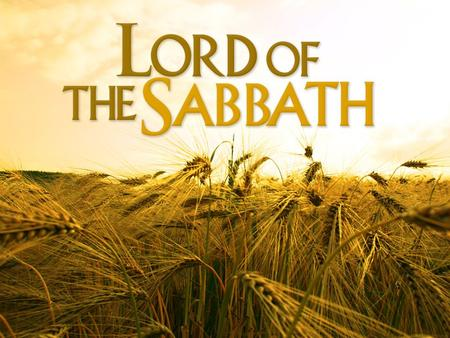 Luke 6:1-11 This Passage Is Not About The Sabbath.