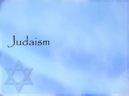 Judaism. Beginning of Judaism Judaism is the oldest of the world's major monotheistic religions, originating in Israel around 4000 years ago. Jewish history.