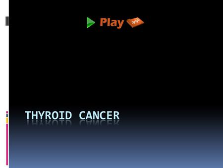 Introduction  Thyroid cancer is formed when unusual cells are grown in the thyroid gland.  It has a shape of butterfly and it is found in the front.